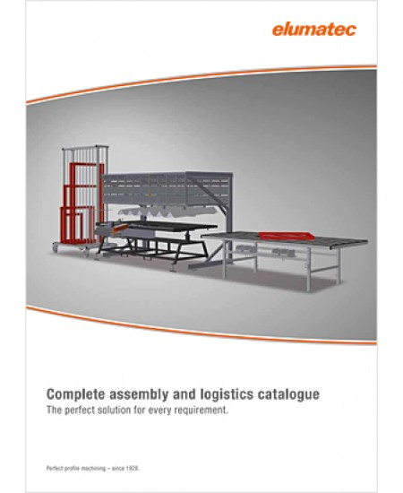 ELUMATEC Complete assembly and logistics catalogue