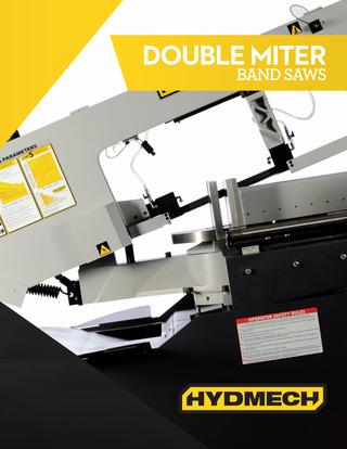 HYDMECH Double Miter Band Saws