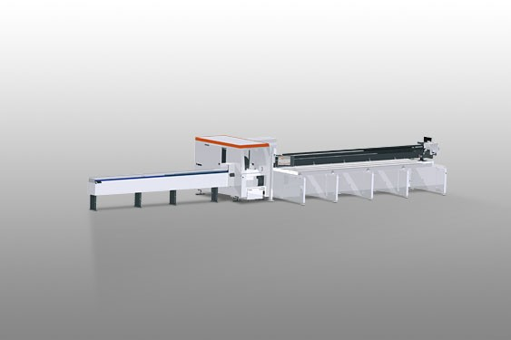 AUTOMATIC SAWS WITH PUSHER